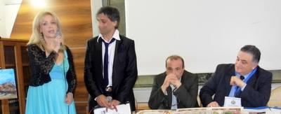 Nancy DI Somma, Angelo Iannelli, Gennaro Sannino e Gennaro Rimauro