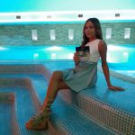 """La baby-model Laura Ippolito testimonial del """"Gold Hotel&Quintessentia"""" a Marcianise"""