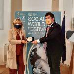 ESTER GATTA AMBASSADOR INTERNATIONAL COMPETITION 2020 AL SOCIAL WORLD FILM FESTIVAL