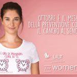 Nastro Rosa 2020, LA CAMPAGNA DI PREVENZIONE LILT FOR WOMEN