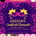 """Partito il contest """"Carnevale con gusto e col cuore: Contest internazionale d'eccellenza"""""""