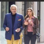 Michael Nouri a Roma , il divo hollywoodiano di Flashdance rivede l'amica Eleonora Pieroni