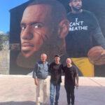 Il murales di Jorit a Casapulla (Ce). Sabato sera presentazione ufficiale